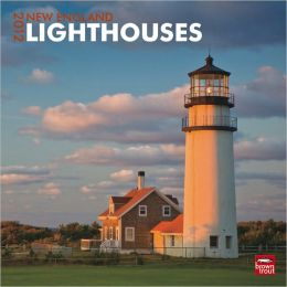 2012 New England Lighthouses Square 12X12 Wall Calendar