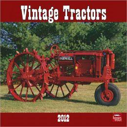2012 Vintage Tractors Square 12X12 Wall Calendar