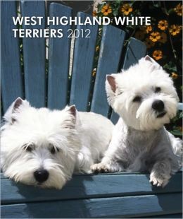 West Highland White Terriers 2012 Hardcover Weekly Engagement
