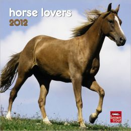 2012 Horse Lovers 7X7 Mini Wall Calendar