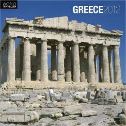 2012 Greece Square 12X12 Wall Calendar