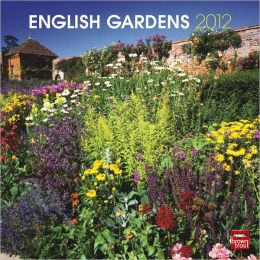2012 English Gardens Square 12X12 Wall Calendar