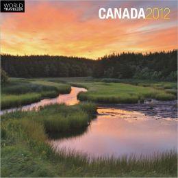 2012 Canada Square 12X12 Wall Calendar