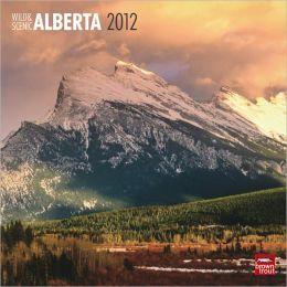 2012 Alberta, Wild & Scenic Square 12X12 Wall Calendar