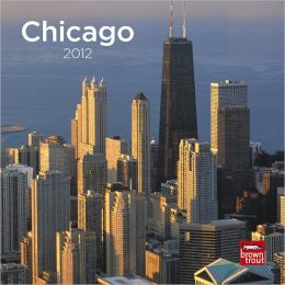 2012 Chicago 7X7 Mini Wall Calendar
