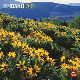 2012 Idaho, Wild & Scenic Square 12X12 Wall Calendar