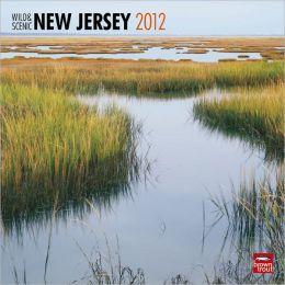 2012 New Jersey, Wild & Scenic Square 12X12 Wall Calendar