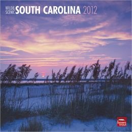 2012 South Carolina, Wild & Scenic Square 12X12 Wall Calendar
