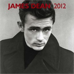 2012 James Dean Faces Square 12X12 Wall Calendar
