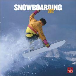 2012 Snowboarding Square 12X12 Wall Calendar
