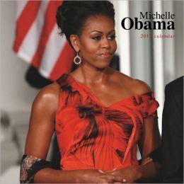 2012 Michelle Obama FACES Square 12X12 Wall Calendar