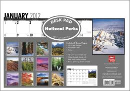 National Parks 2012 Desk Pad