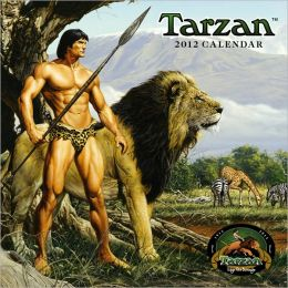 2012 TARZAN 100th Anniversary Square Wall Calendar