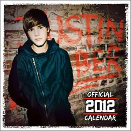 Justin Bieber 2012 Faces Square 12X12 Wall Calendar Mass
