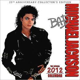 2012 Michael Jackson Square 12x12 Wall Calendar