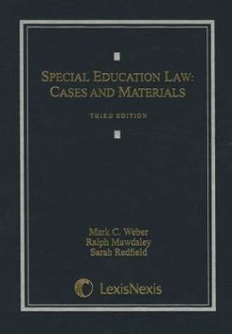 Special Education Law: Cases and Materials