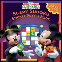 Mickey Mouse Clubhouse Scary Sudoku Sticker Puzzles Book