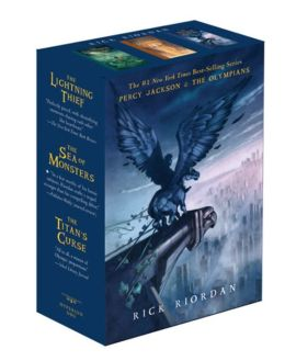 Percy Jackson and the Olympians pbk 3-book