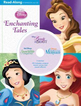 3-in-1 Read-Along Storybook and CD: Enchanting Tales