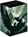 Book Cover Image. Title: Percy Jackson pbk 5-book boxed Set, Author: Rick Riordan