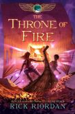 Book Cover Image. Title: The Throne of Fire (Kane Chronicles Series #2), Author: Rick Riordan