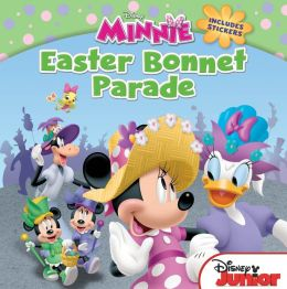 Minnie Easter Bonnet Parade: Includes Stickers