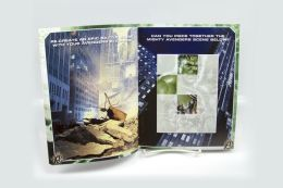 The Avengers Reusable Sticker Book
