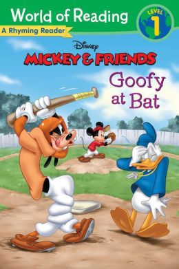 Goofy at Bat: A Rhyming Reader