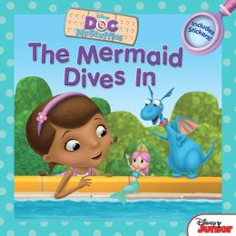 The Mermaid Dives In: Includes Stickers!