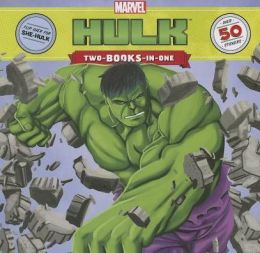 Hulk / She-Hulk: Two-Books-In-One With Over 50 Stickers