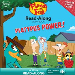 Platypus Power! (Phineas and Ferb Read-Along Storybook)