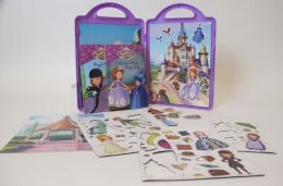 Sofia the First Ready to be a Princess: Book and Magnetic Playset