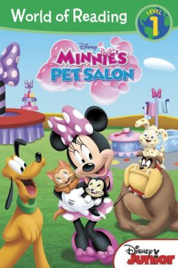 Minnie's Pet Salon (World of Reading Serie: Level 1)