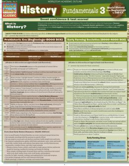History Fundamentals 3: World History from Beginnings to 500 CE