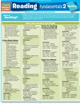 Reading Fundamentals 2: Spelling