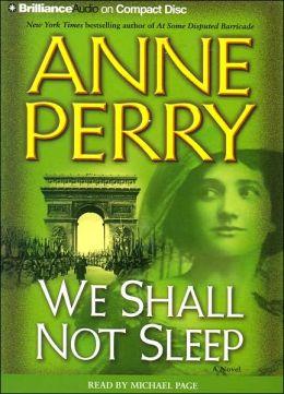 We Shall Not Sleep (World War One Series #5)