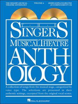 Singer's Musical Theatre Anthology - Volume 4: Mezzo-Soprano/Belter Accompaniment CDs