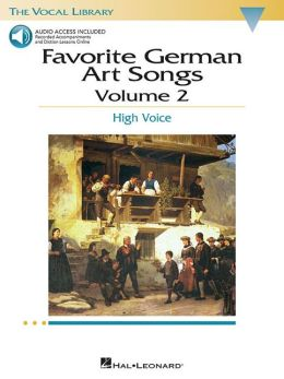 Favorite German Art Songs: Volume 2: High Voice
