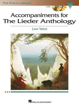 Accompaniments to The Lieder Anthology - Low Voice - Set of Piano Accompaniment CDs