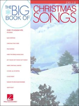 Big Book of Christmas Songs - Cello