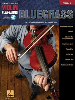 Bluegrass - Violin Play-Along, Volume 1