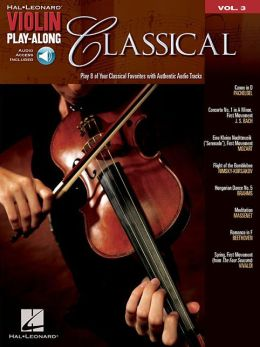 Classical - Violin Play-Along, Volume 3
