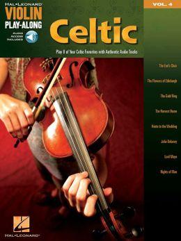 Celtic - Violin Play-Along, Volume4