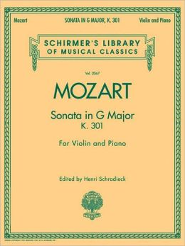 Violin Sonata in G Major, K. 301 (violin/piano)