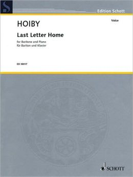 Last Letter Home: Solo Version for Baritone and Piano