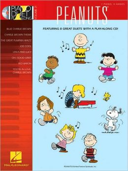 Peanuts: 1 Piano, 4 Hands [With CD (Audio)]