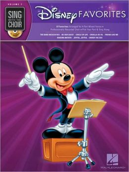 Disney Favorites - Sing with the Choir (with CD)