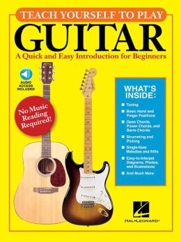 Teach Yourself to Play Guitar [With CD (Audio)]