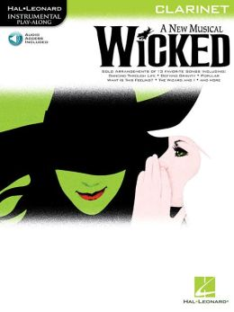 Wicked: Clarinet Play-Along Pack