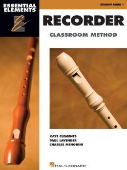 Essential Elements Recorder Classroom Method